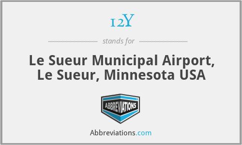 12Y - Le Sueur Municipal Airport, Le Sueur, Minnesota USA