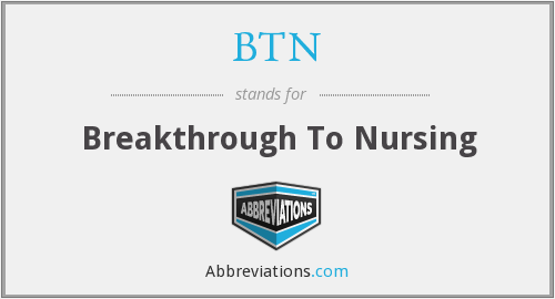 BTN - Breakthrough To Nursing