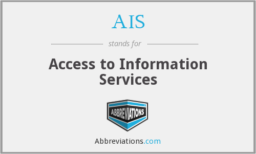 AIS - Access to Information Services