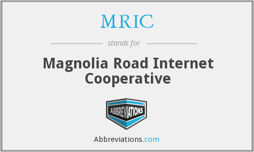 MRIC - Magnolia Road Internet Cooperative