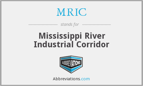 MRIC - Mississippi River Industrial Corridor