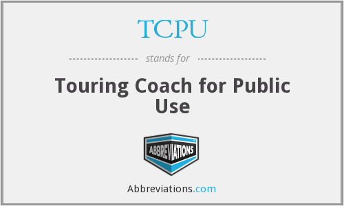 TCPU - Touring Coach for Public Use