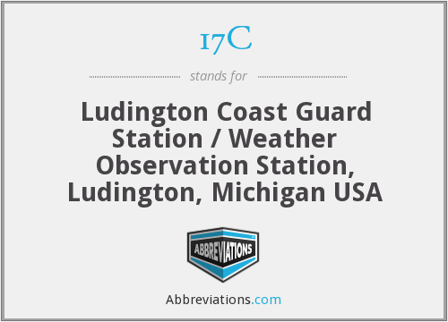 17C - Ludington Coast Guard Station / Weather Observation Station, Ludington, Michigan USA