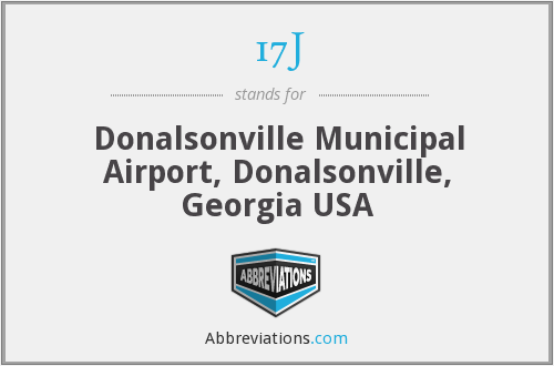 17J - Donalsonville Municipal Airport, Donalsonville, Georgia USA