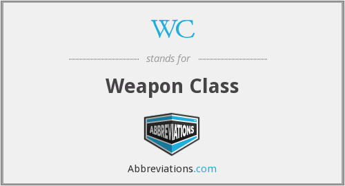 WC - Weapon Class