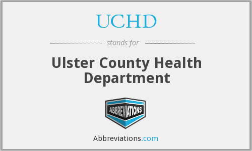 UCHD - Ulster County Health Department