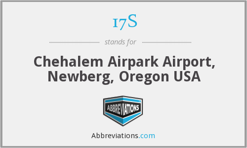 17S - Chehalem Airpark Airport, Newberg, Oregon USA