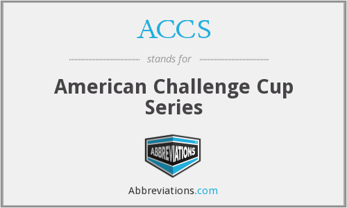 ACCS - American Challenge Cup Series