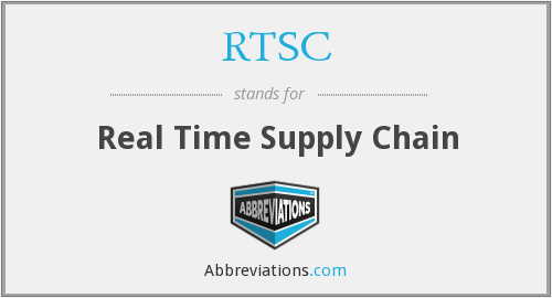 RTSC - Real Time Supply Chain