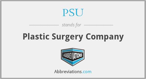 PSU - Plastic Surgery Company