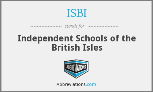 ISBI - Independent Schools of the British Isles