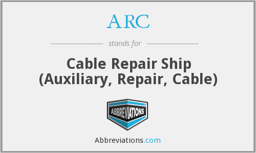 ARC - Cable Repair Ship (Auxiliary, Repair, Cable)