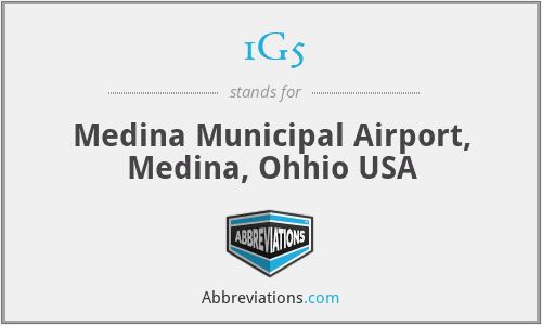 1G5 - Medina Municipal Airport, Medina, Ohhio USA