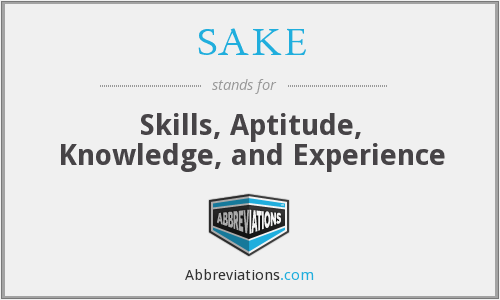 What does SAKE stand for?
