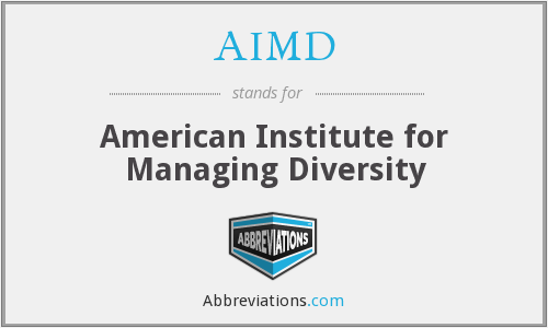 AIMD - American Institute for Managing Diversity