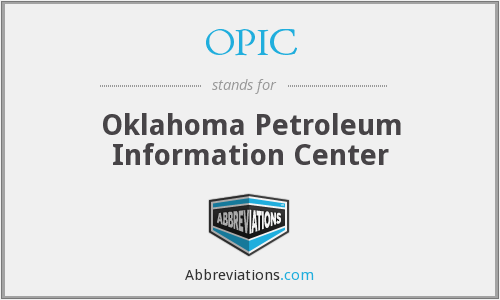 OPIC - Oklahoma Petroleum Information Center