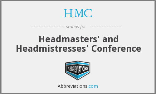 HMC - Headmasters' and Headmistresses' Conference