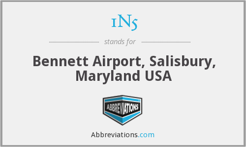 1N5 - Bennett Airport, Salisbury, Maryland USA