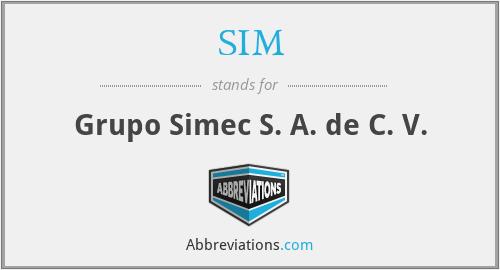 SIM - Grupo Simec S. A. de C. V.