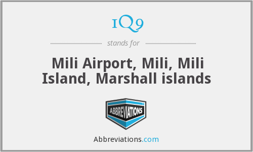1Q9 - Mili Airport, Mili, Mili Island, Marshall islands