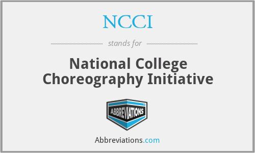 NCCI - National College Choreography Initiative
