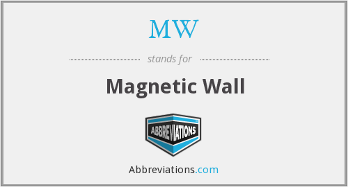 MW - Magnetic Wall