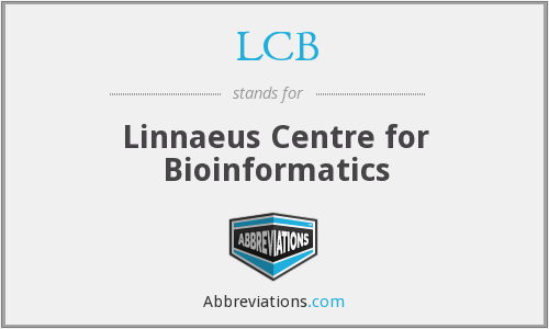 LCB - Linnaeus Centre for Bioinformatics