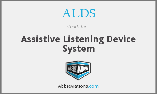 ALDS - Assistive Listening Device System
