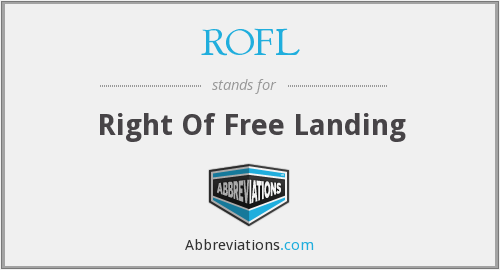 ROFL - Right Of Free Landing