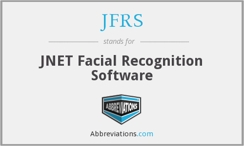JFRS - JNET Facial Recognition Software