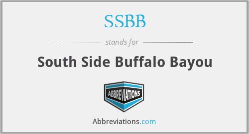 SSBB - South Side Buffalo Bayou