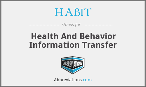 HABIT - Health And Behavior Information Transfer