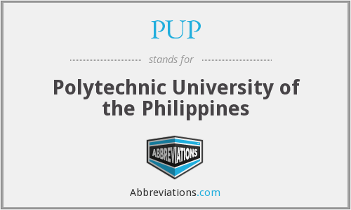 PUP - Polytechnic University of the Philippines