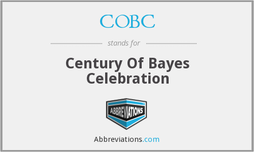COBC - Century Of Bayes Celebration