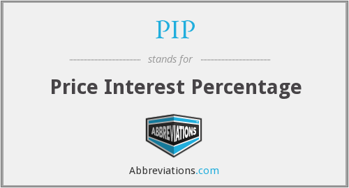 PIP - Price Interest Percentage