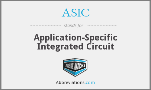 ASIC - Application-Specific Integrated Circuit