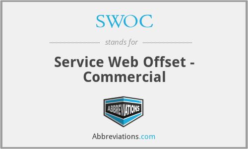SWOC - Service Web Offset - Commercial