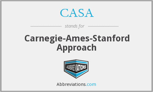 CASA - Carnegie-Ames-Stanford Approach