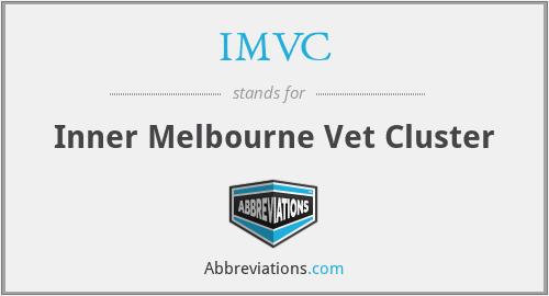 IMVC - Inner Melbourne Vet Cluster