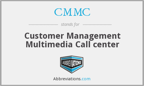 What does CMMC stand for?