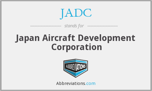 JADC - Japan Aircraft Development Corporation