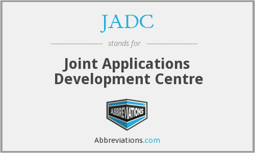 JADC - Joint Applications Development Centre