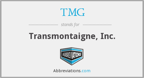 TMG - Transmontaigne, Inc.