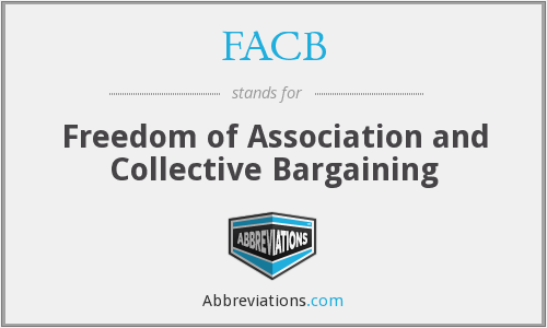 FACB - Freedom of Association and Collective Bargaining