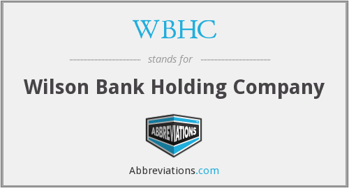 What does WBHC stand for?