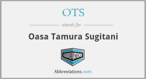 OTS - Oasa Tamura Sugitani