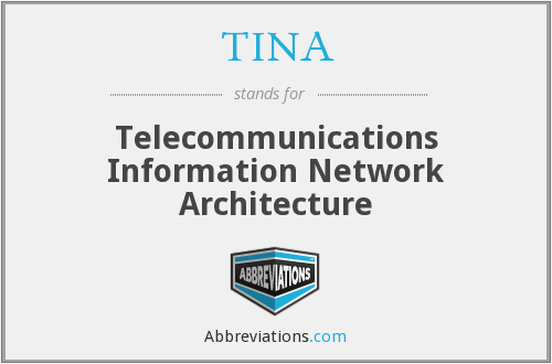 TINA - Telecommunications Information Network Architecture