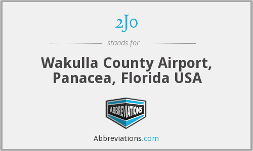 2J0 - Wakulla County Airport, Panacea, Florida USA