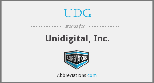 UDG - Unidigital, Inc.