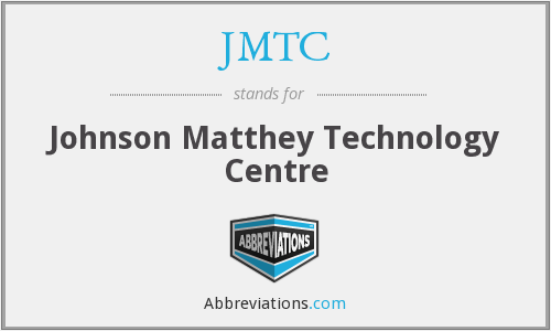 JMTC - Johnson Matthey Technology Centre